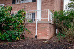 Gutter lead off and landscaping from D-Bug Waterproofing