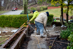 Exterior Landscaping and Grading by D-Bug Waterproofing. Greensburg PA