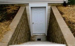 Basement Entrances D Bug Waterproofing