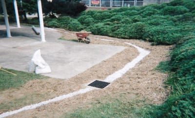Storm Drain and Catch Basin system to deal with Stormwater Runoff