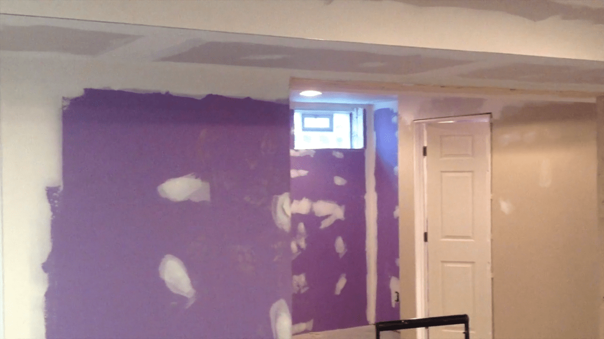 D-Bug Waterproofing wall prep
