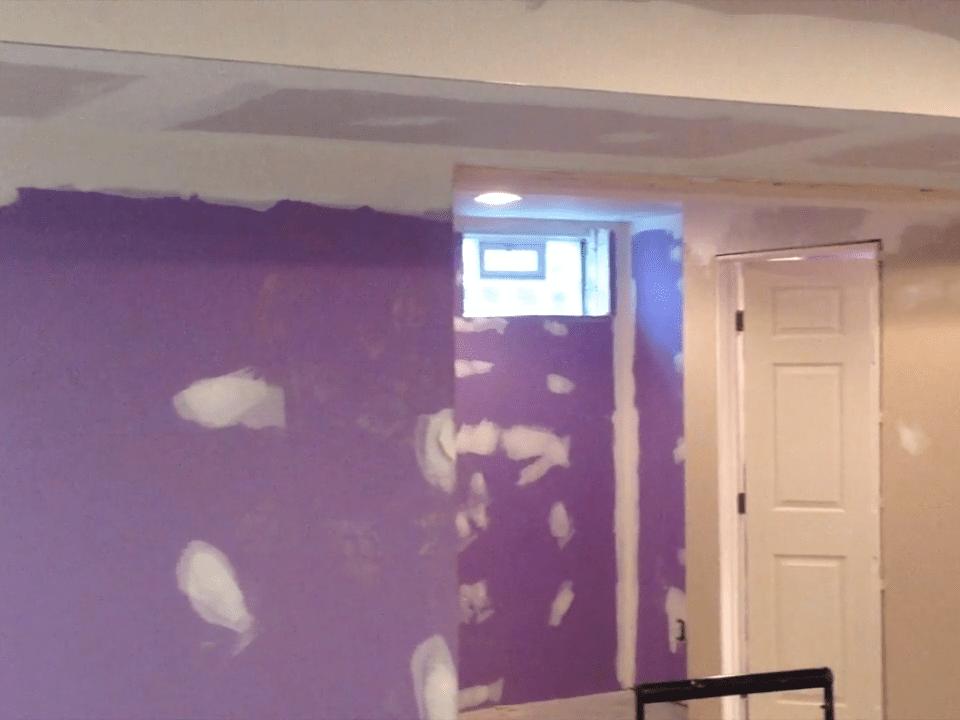 D-Bug Waterproofing wall prep