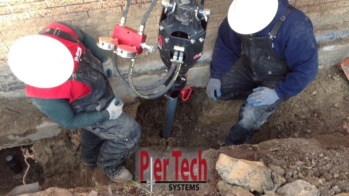 D-Bug Waterproofing using Pier Tech Systems