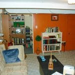 A usable basement waterproofed and remodeled by D-Bug Waterproofing