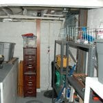 D-Bug Waterproofing can fix your basement to make usable storage space