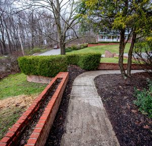 Retaining Wall from D-Bug Waterproofing