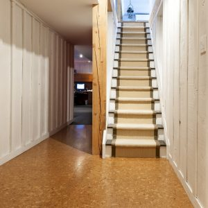 cozy basement colors