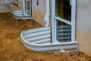 Basement Window Wells Installation