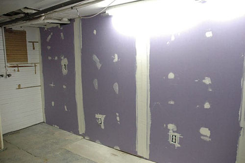 Basement Moisture Proof Wall