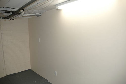 New Wall in Basement, D-Bug Waterproofing