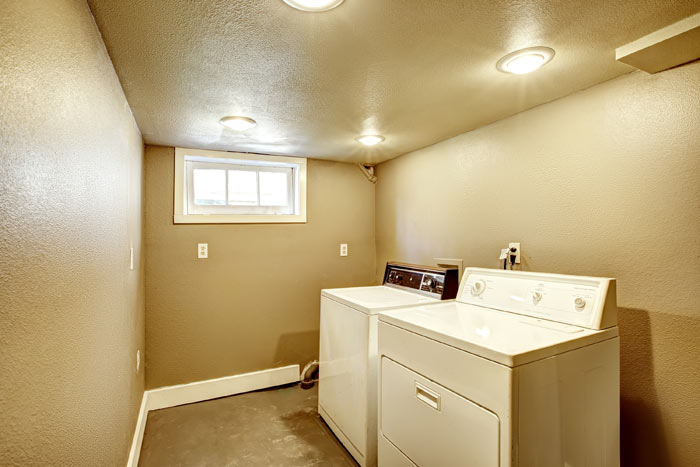 Basement Painting Laundry Room
