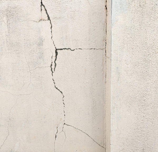 Cracked Basement Wall
